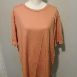 Women's plus size Orange 2X shirt